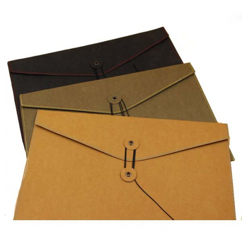 Washable Kraft Paper Laptop Ipad Tablet Bag A