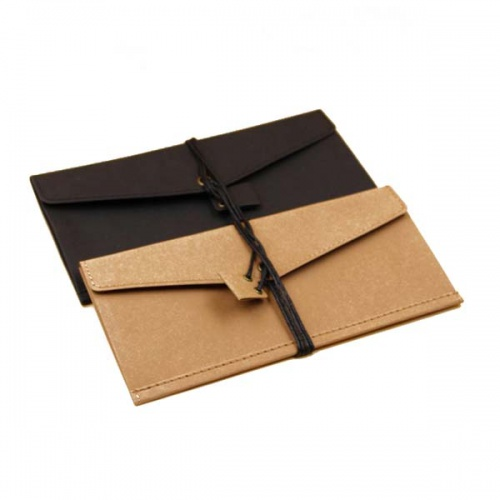 Washable Kraft Paper Make Up Bag