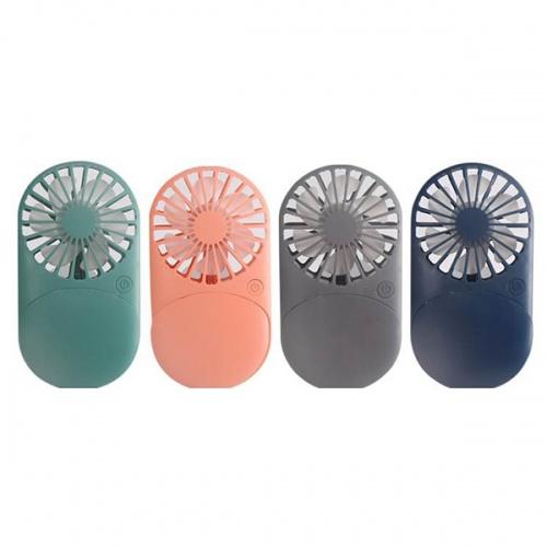LED Light Mirror Mini Fan